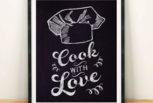 Kitchen Poster Kitchen Art Cooking Poster cooking art