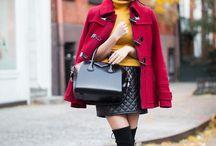 {Fashion} Parka roja