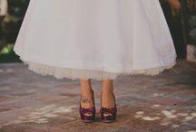 scarpe da sposa anni 50