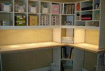 Cupboards and working station