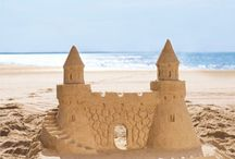 Sand Castles / Building Castles in the Sand!