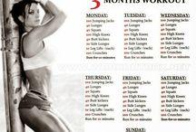 3 months workout