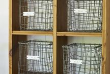 Storage & Office / Get organised, know where all your stuff is and enjoy the process!