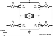 H bridge motor