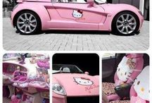 Hello kitty cars / by Kitty White