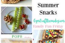 Food: Snacks for Children