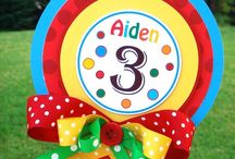 benji's 3rd birthday ideas