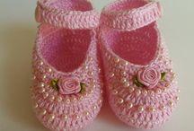 trabalhos de crochê