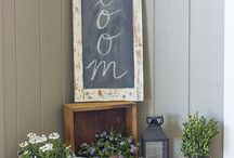 SPRING INSPIRATION / A collection of spring crafts and decor to freshen and brighten your home.