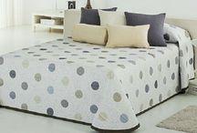 Colchas / Amplio catálogo de colchas disponible en casaytextil.com. Descubre como decorar tu habitación con colchas de verano, de piqué, bouti...