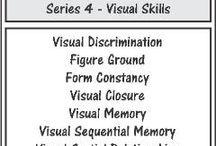 Carrie's visual skills board