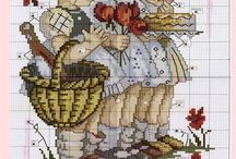 Cross Stitch packages / Cross stitch patterns