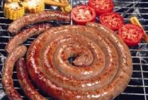 BOEREWORS BILTONG & BRAAI / Growing up in South Africa biltong, boereowors and braaivleis was at the center of every get together. I love nothing more than the smokey char of food cooked on the grill...