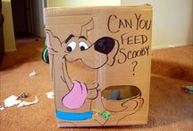 Scooby Doo Party / Scooby Doo party decorations, Scooby Doo cakes and cupcake ideas, Scooby Doo party games
