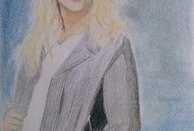 My paintings!!!<3