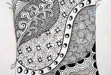Art lesson Zentangles / by Amy Gravlin