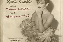 Music ... mostly Bowie...