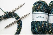 Annerie knitting