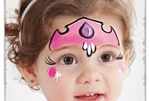 Face painting - girly