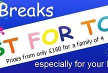 Butlins Just for Tots Breaks / Introduced in 2014 Butlins BIG breaks especially for Little ones are back by popular demand in 2015. There will be 4 midweek four night breaks that are designed to keep tots and toddlers happy & entertained. As an alternative to the apartments we can offer caravan accommodation and entertainment passes from as little as £160 for a family of four.