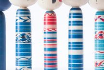 kokeshi / Japanese dolls / Originally from northern Japan