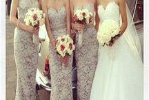 All my girls - the bridesmaids!