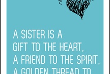 To my dear sisters