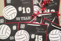 Volleyball - Decorations