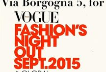 Vogue Fashion's Night Out & HectorRiccione