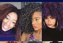 Protective Hairstyles / Protective hair styles for women of color with natural, curly hair textures.