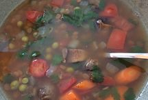My Soup Diary / This is a collection of the soups I make.  Aren't they pretty?