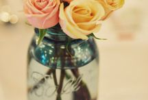 Magic Mason jars / How beautiful are these jars and how lovely do they look ...