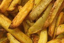 aardappel/friet uit oven