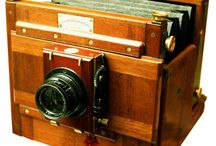 Photographic Equipment LF / Large Format Camera, Plate Camera, Folding-Bed, Folding-Field Camera, Sliding-Box Camera