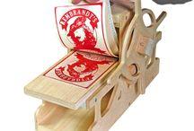 DIY printing press