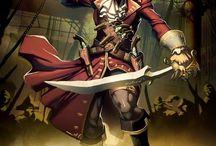 Pirates / banque d'images sur le thème de la piraterie