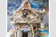 Craft: Fairy houses