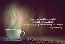 Kahve vazgecemedigim