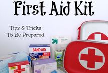 Just First Aid Kits / First Aid Kits can be tiny or LARGE. As long as the contents are well planned, they can be quite helpful. Consider what possible problems there could be on that particular journey; the number & ages of the people who will be dependent on it for their wellbeing. Plan wisely.