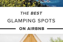 Glamping / Marketing Images & Ideas