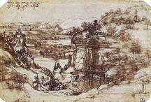 Leonardo da Vinci Drawings and Studies