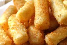 homemade stick  mozzarella