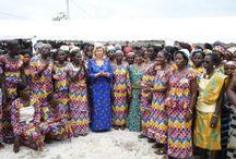 Inauguration de la coopérative des femmes d'Ananda
