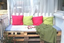 {patios, balconies & the great outdoors} / by Katie Rios