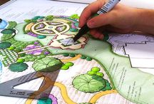 проектирование ландшафта