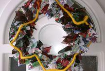 Rag wreath - rongy koszorú