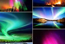 풍경-하늘-북극