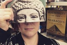 Bookface Friday! / Faces, books, librarians. How we have fun at work!