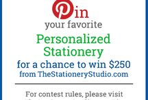 The Stationery Studio 2016 Stationery Sweepstakes