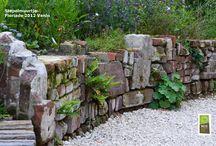 hoogteverschillen in tuin  - levels in garden [inspiratie]